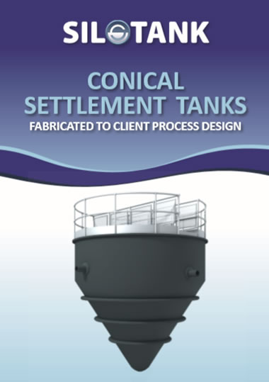 Conical Settlement Tank