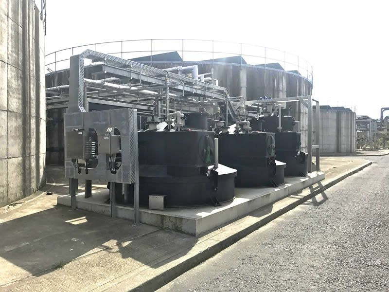 Irish Fluid tank farm
