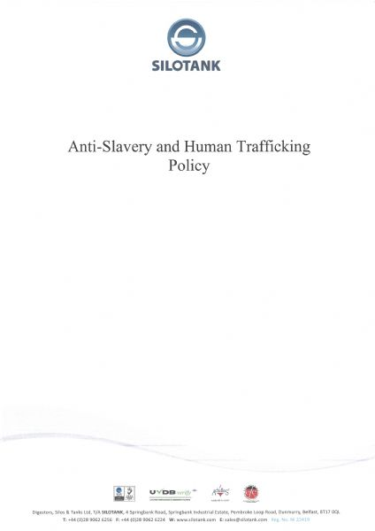 anti-slavery and human trafficking policy