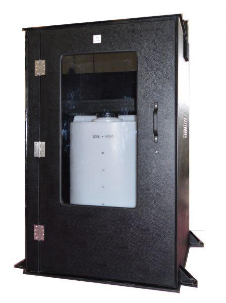 dosing tank kiosk
