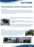 Thermoplastic Vertical Tanks