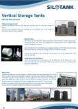 Vertical Tanks GRP Dual Laminate