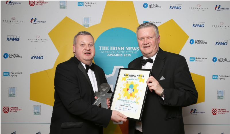 Irish News Workplace & Employment Awards 2019
